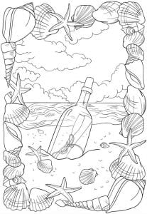 подводный мир раскраски (4)