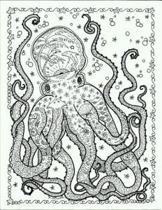 подводный мир раскраски (42)