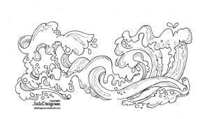 подводный мир раскраски (45)