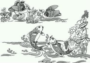 подводный мир раскраски (49)