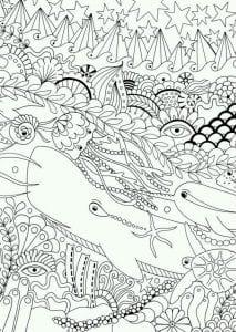 подводный мир раскраски (60)