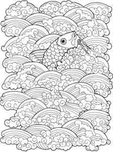 подводный мир раскраски (75)