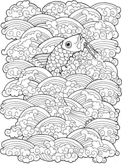 -мир-раскраски-75 подводный мир раскраски (75)