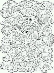 подводный мир раскраски (79)