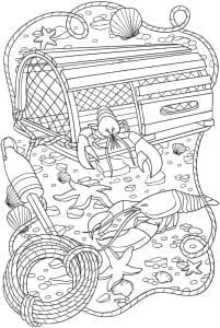 подводный мир раскраски (8)