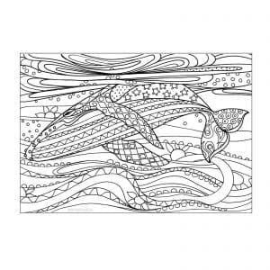 подводный мир раскраски (85)