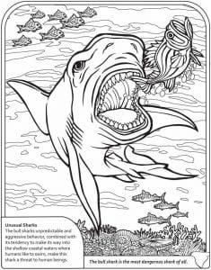 подводный мир раскраски (9)