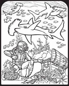 подводный мир раскраски (92)