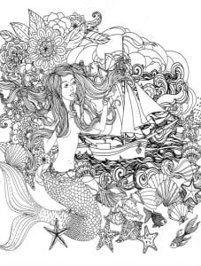 подводный мир раскраски (96)