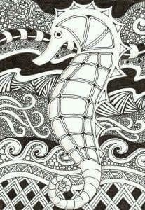 подводный мир раскраски (97)