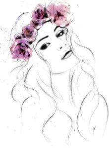 раскраски для взрослых девушки (128)