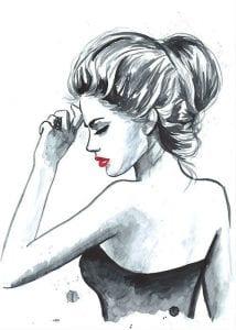 раскраски для взрослых девушки (65)