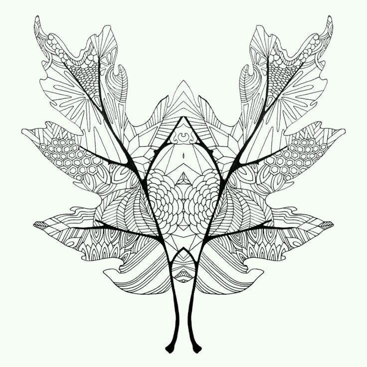 -листья-и-деревья-32 раскраски листья и деревья (32)