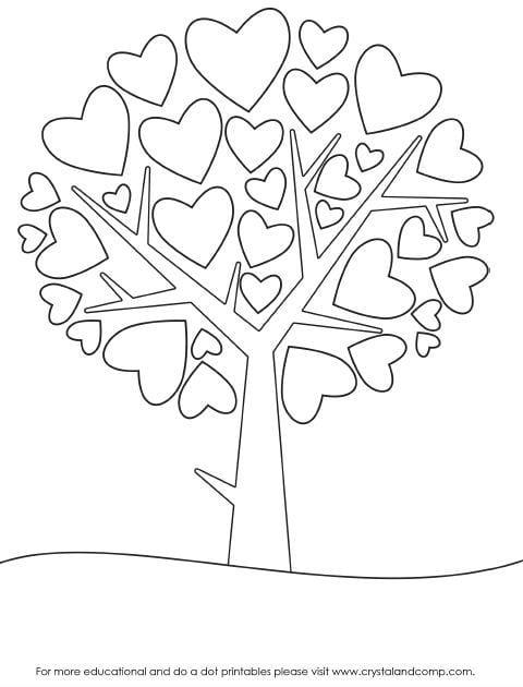 -листья-и-деревья-52 раскраски листья и деревья (52)
