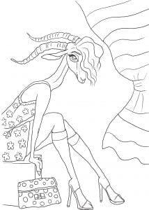зверополис раскраска из мультика (41)