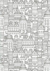 здания раскраски (11)