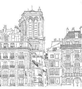 здания раскраски (138)