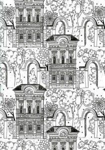 здания раскраски (16)