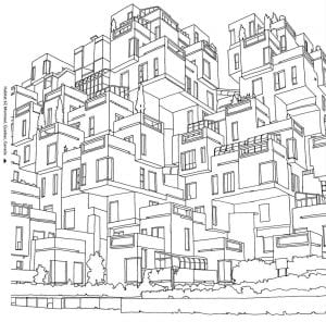 здания раскраски (49)