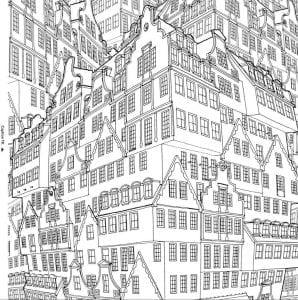 здания раскраски (85)