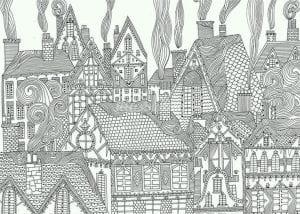 здания раскраски (86)