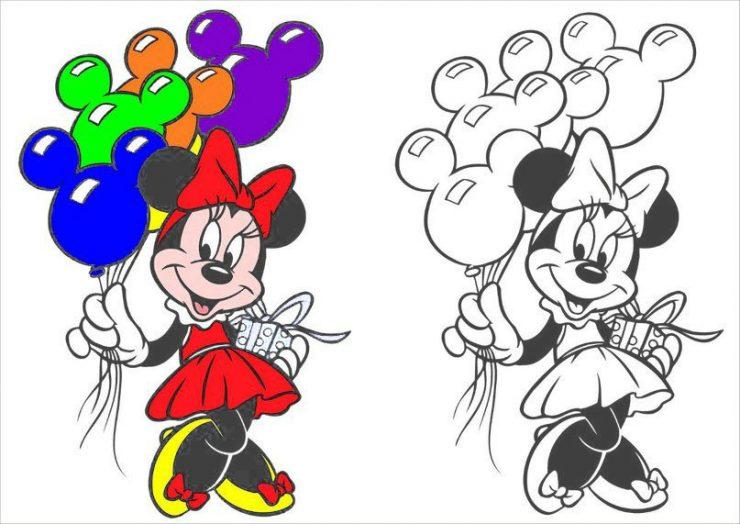 Как сделать цветную картинку в раскраску