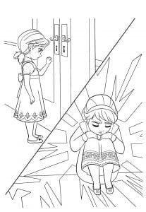 холодное сердце раскраски мультфильм (14)