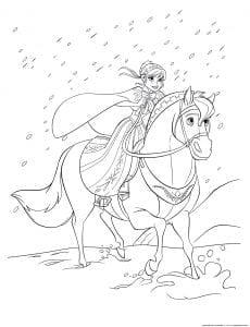 холодное сердце раскраски мультфильм (17)