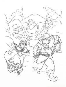 холодное сердце раскраски мультфильм (18)