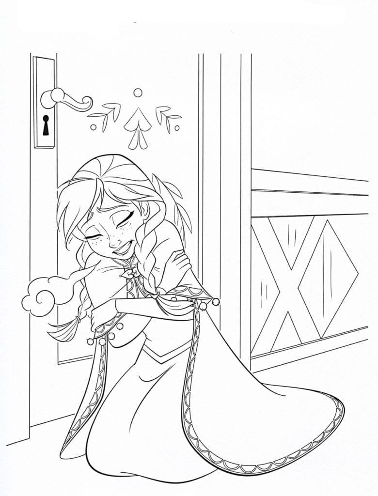 холодное сердце раскраски мультфильм (19)