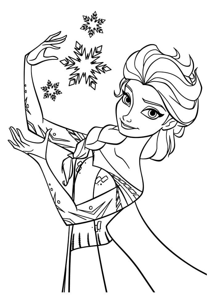 холодное сердце раскраски мультфильм (29)