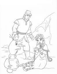 холодное сердце раскраски мультфильм (32)
