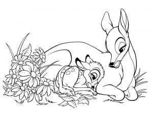 bambi-mothers-day-card-coloring-page-sf-printable-0412