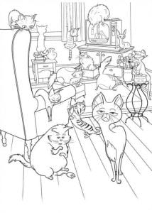 Тайная жизнь домашних животных раскраска (1)