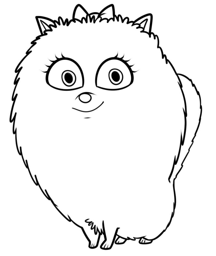 -жизнь-домашних-животных-раскраска-9 Тайная жизнь домашних животных раскраска (9)
