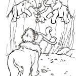 ледниковый период раскраска (33)