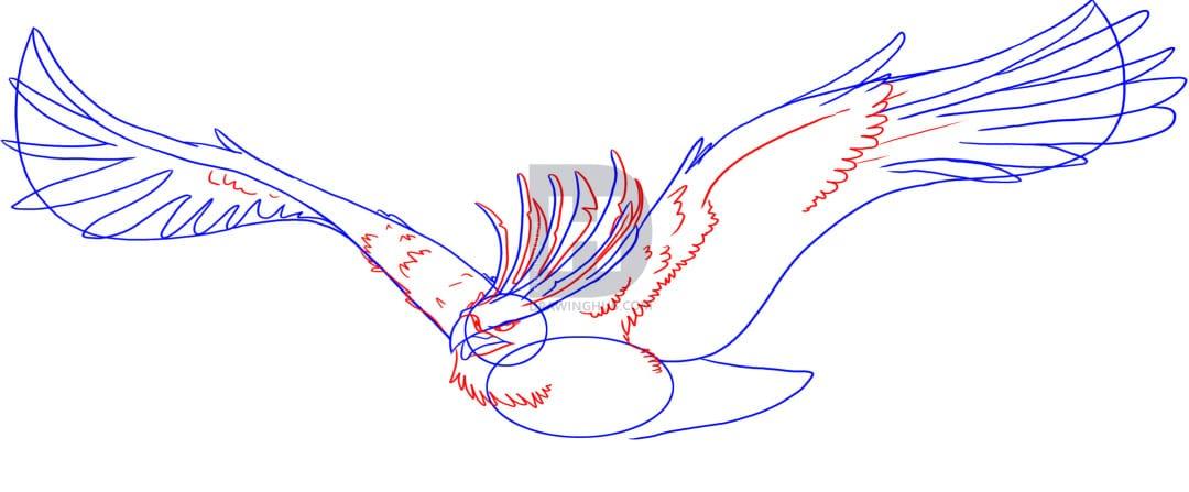 4-2 Как нарисовать феникса