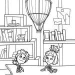 раскраски фиксики для детей (10)