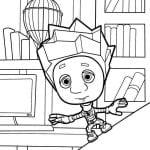 раскраски фиксики для детей (11)