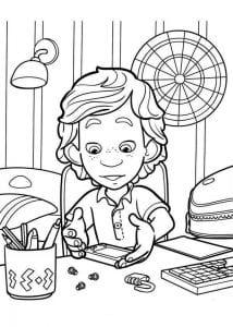 раскраски фиксики для детей (2)