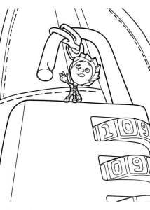 раскраски фиксики для детей (29)