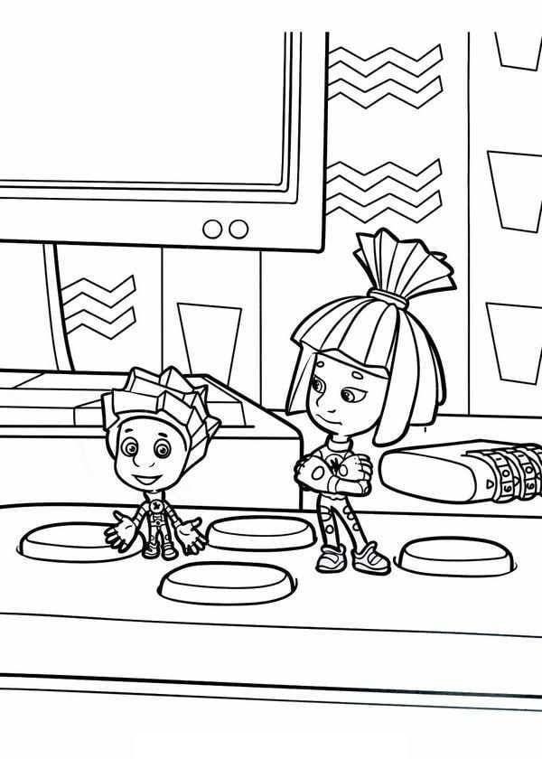 раскраски фиксики для детей (3)