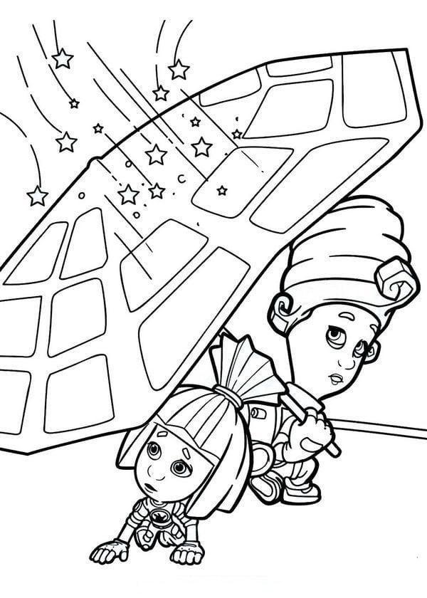 раскраски фиксики для детей (34)