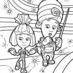 раскраски фиксики для детей (8)