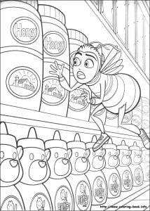 би муви раскраски (15)