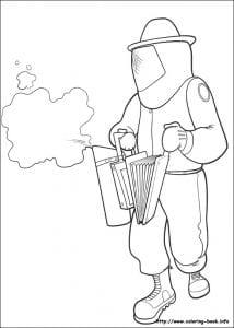 би муви раскраски (17)