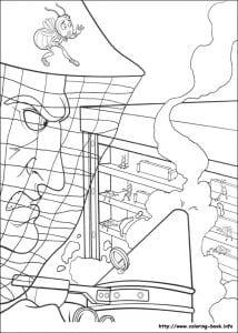 би муви раскраски (18)