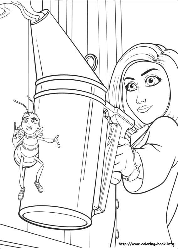 би муви раскраски (25)