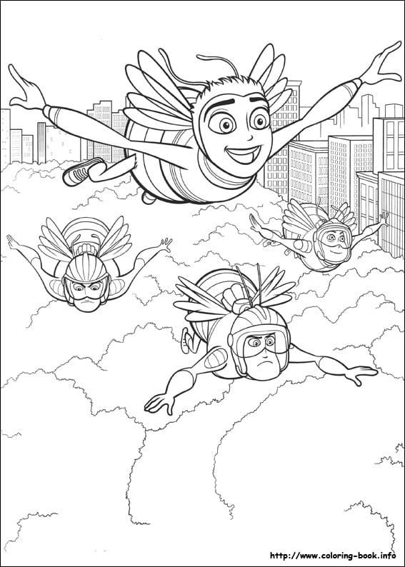 би муви раскраски (5)