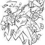 раскраска бэтмен распечатать (10)